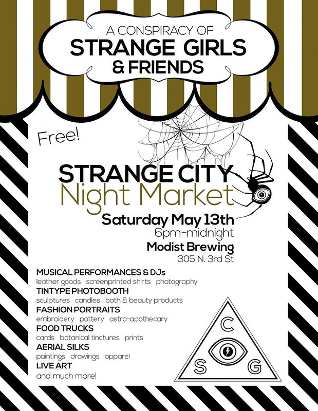 Strange City Night Market