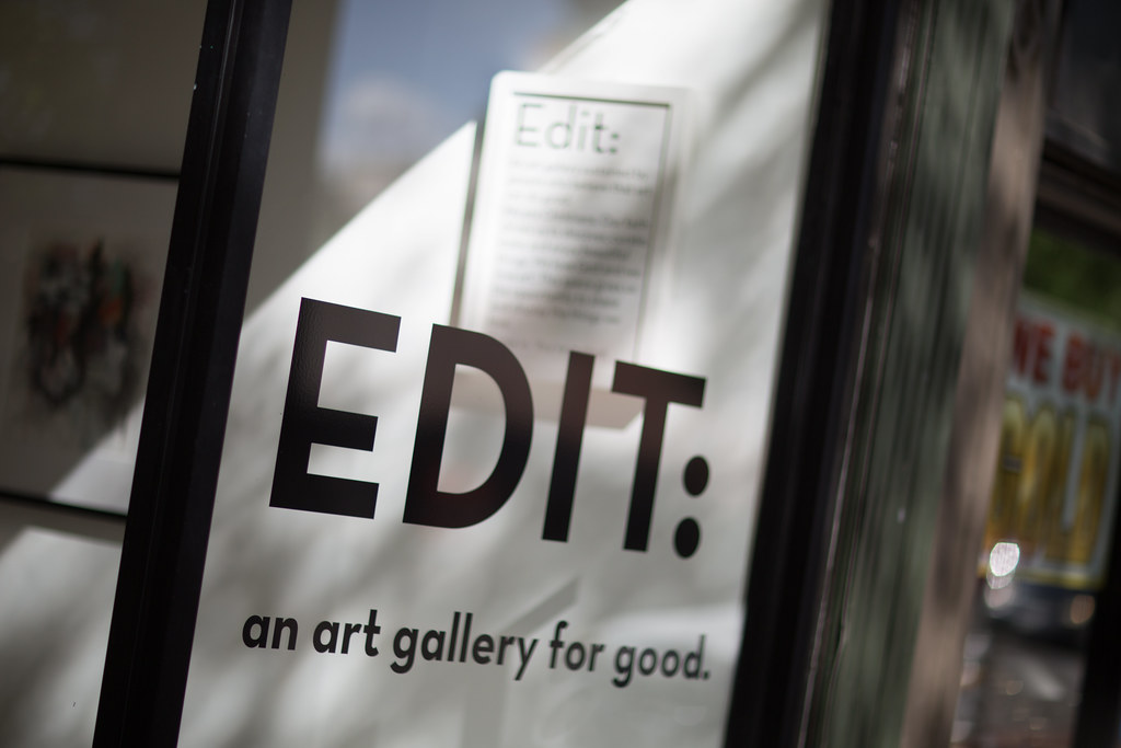 Edit: an art gallery for good