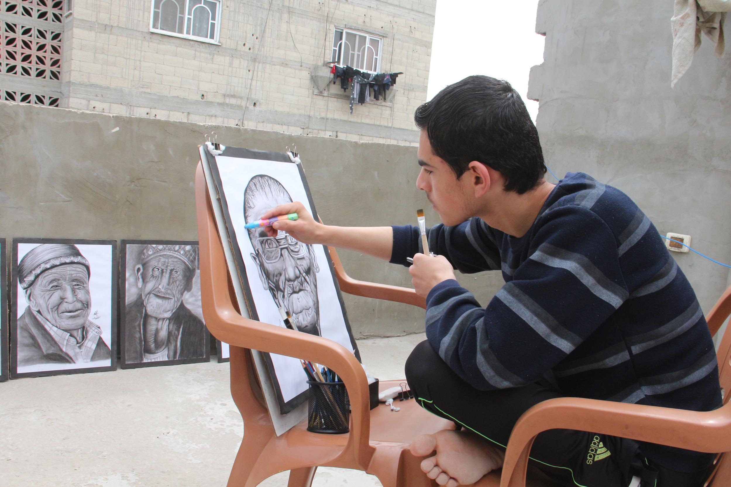 عمر رضوان غزة  (14)