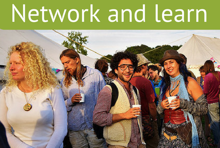Network and learn at permaculture events