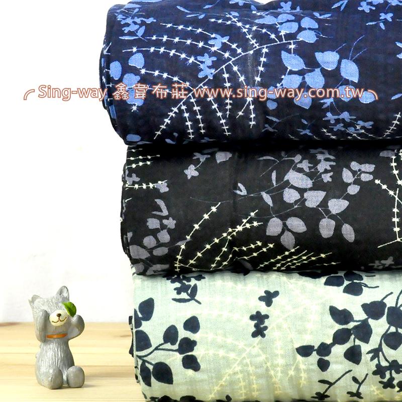 影子花 典雅花卉 夏季服裝布料 CH890231