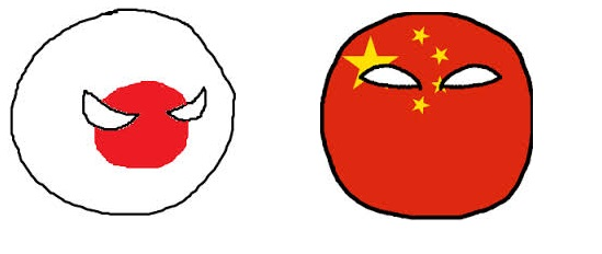 japonball y chinaball