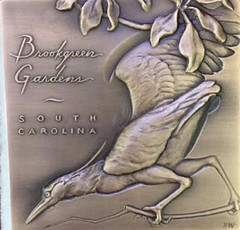 2017 Brookgreen Gardens membership medal reverse