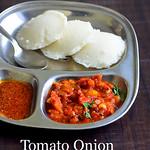 Tomato onion thokku