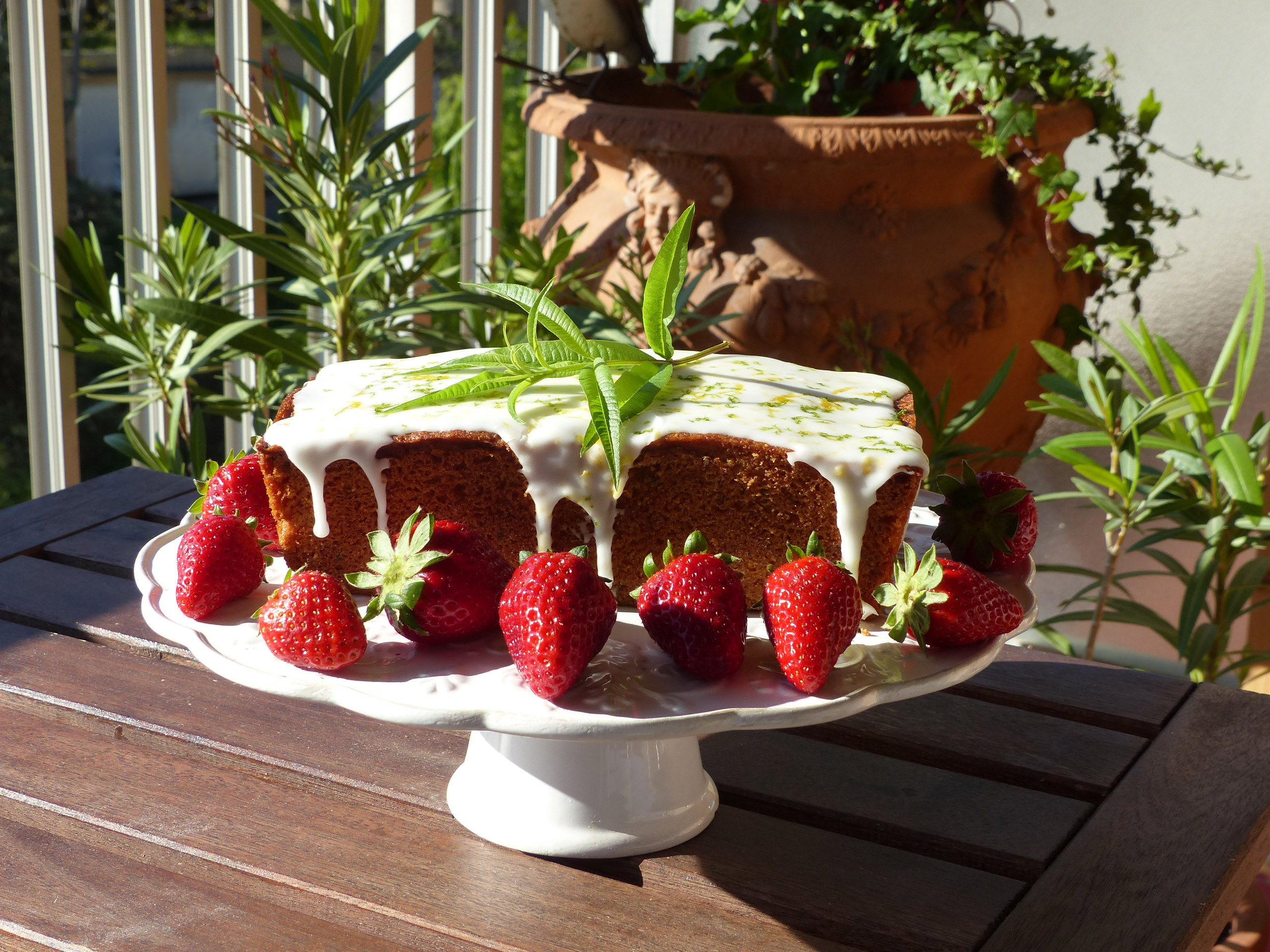 gâteau à la verveine 2