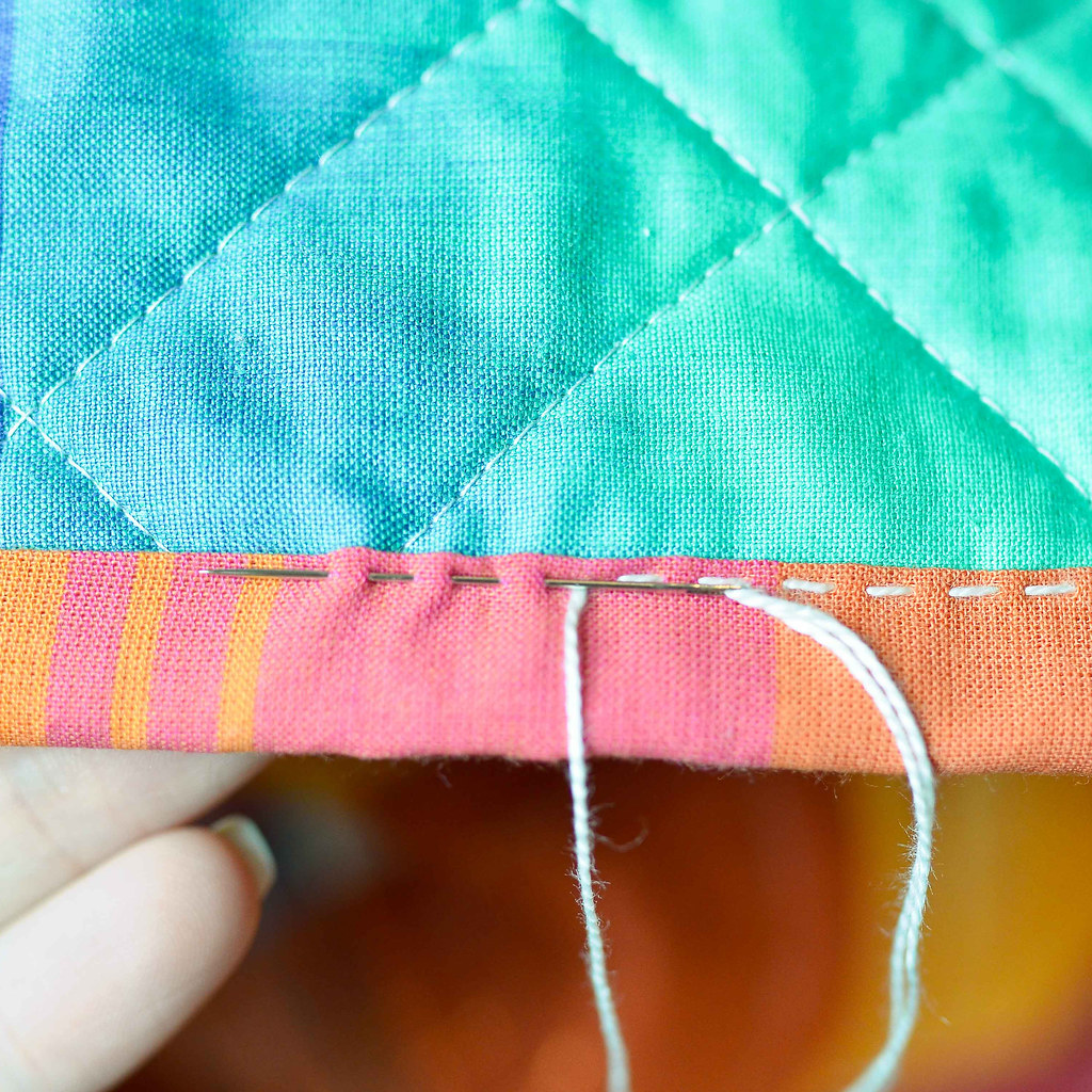 Big Stitch Binding Tutorial