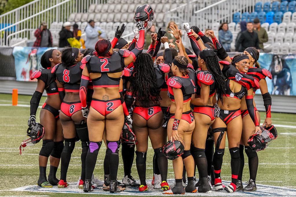 El equipo de fútbol americano mas sexy de Atlanta!