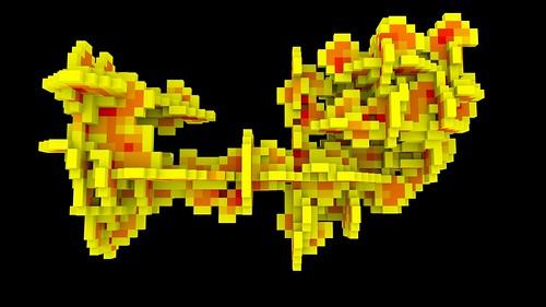 Mitsuba 3D Ant Automaton render