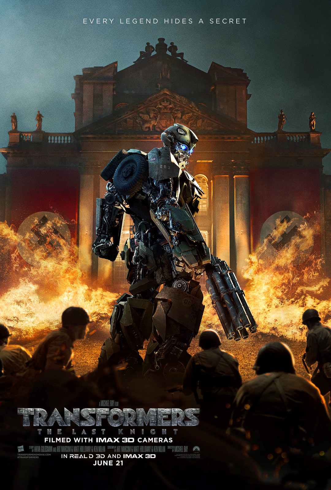 Transformers The Last Knight Bumblebee Poster