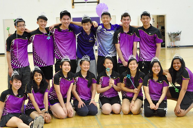Badminton Senior Night 2017