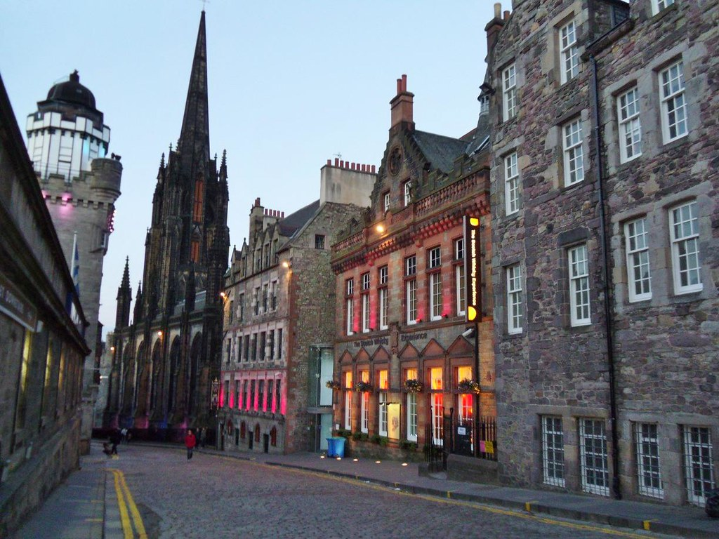 The Royal Mile, Edinburgh