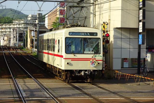 2017/05 叡山電車×きんいろモザイクPretty Days ラッピング車両 #39
