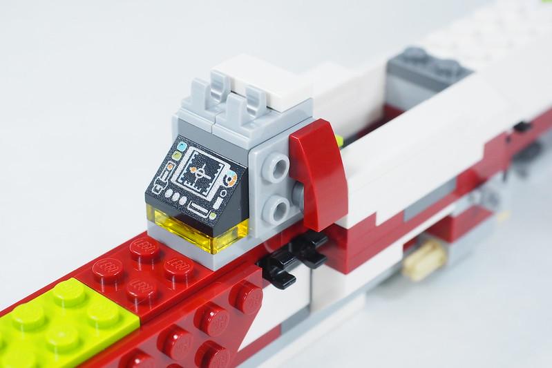 Brickfinder Review Lego Star Wars Jedi Starfighter With