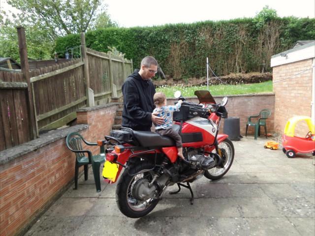 Daddy's bike
