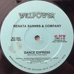 RENATA BARNES & COMPANY:BOOGIE DOWN CHOO CHOO(LABEL SIDE-B)