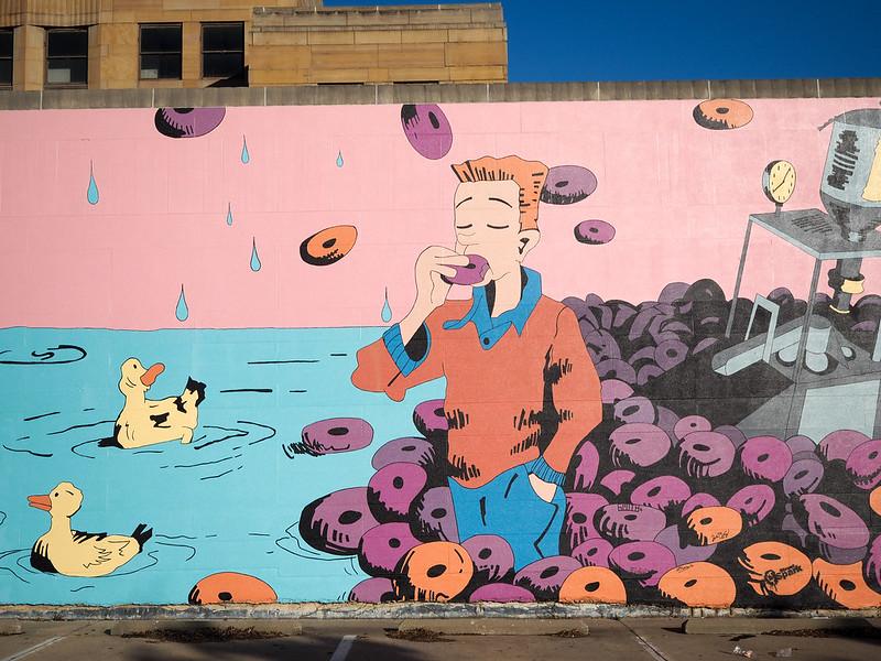 Mural in Hamilton, Ohio