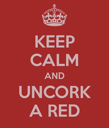 uncork a red