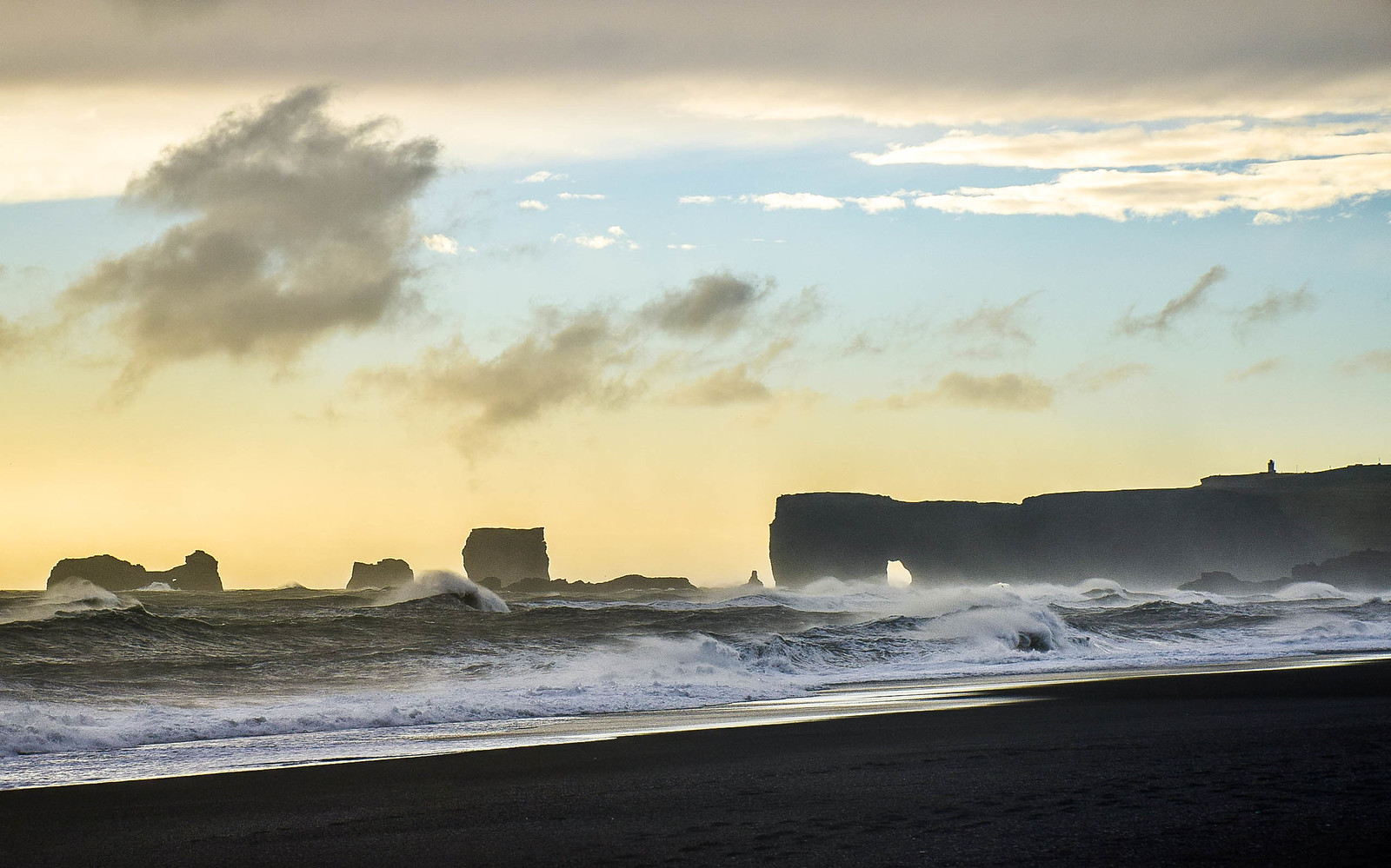 Reynisfjara Beach, Vik, Iceland