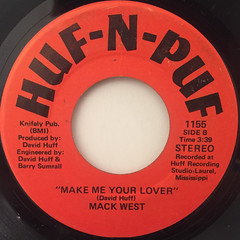 MACK WEST:WHO'S GONNA FUNKY(LABEL SIDE-B)