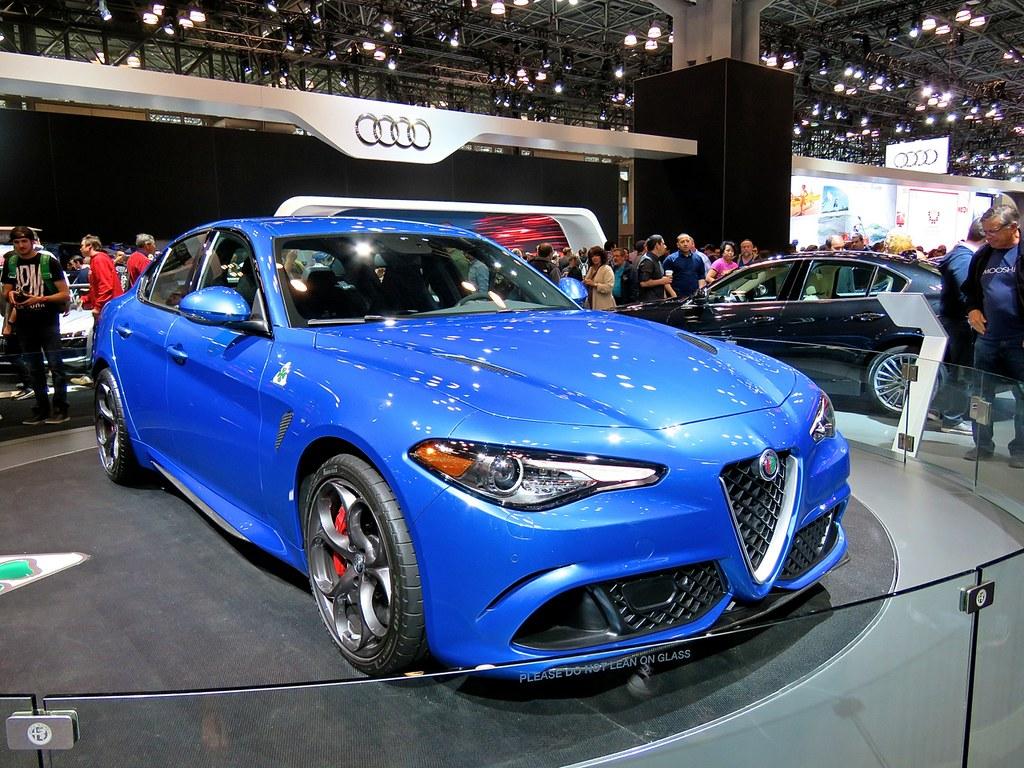 Alfa Romeo Giulia QV NYIAS 1