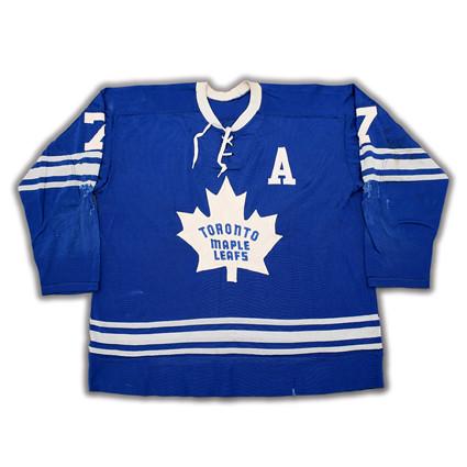 Toronto Maple Leafs 1966-67 F jersey