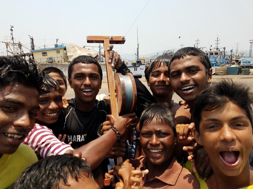 Vizag India - Fishing Port