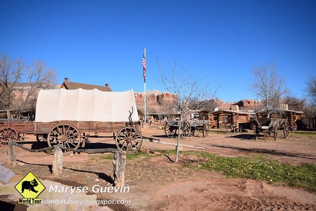 Bluff et son Musée Utah USA