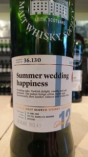 SMWS 36.130 - Summer wedding happiness