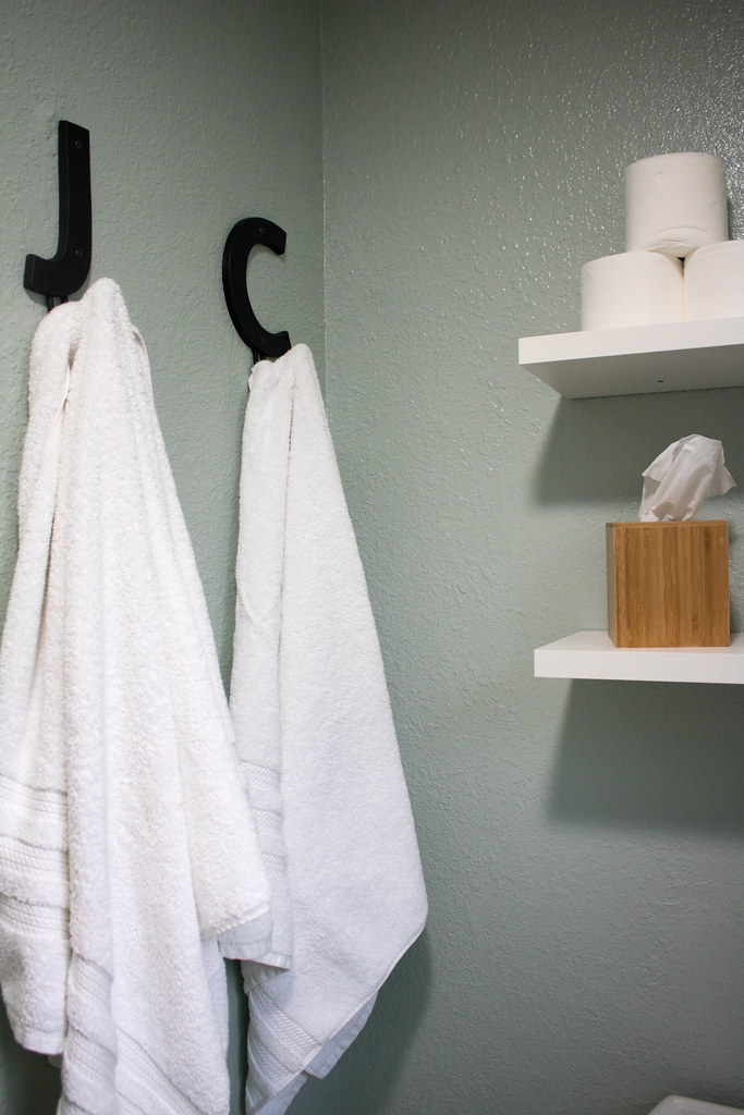 New Towel Hooks