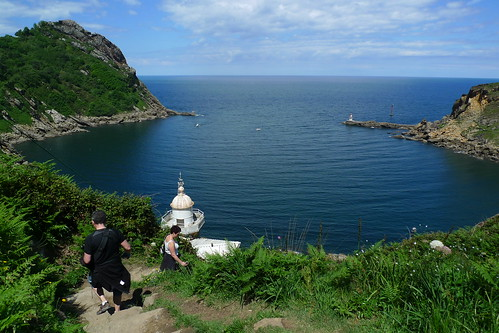 Walking from San Pedro to San Sebastian, Spain