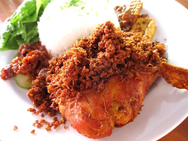 Sarah Islamic Corner ayam penyet & sambal