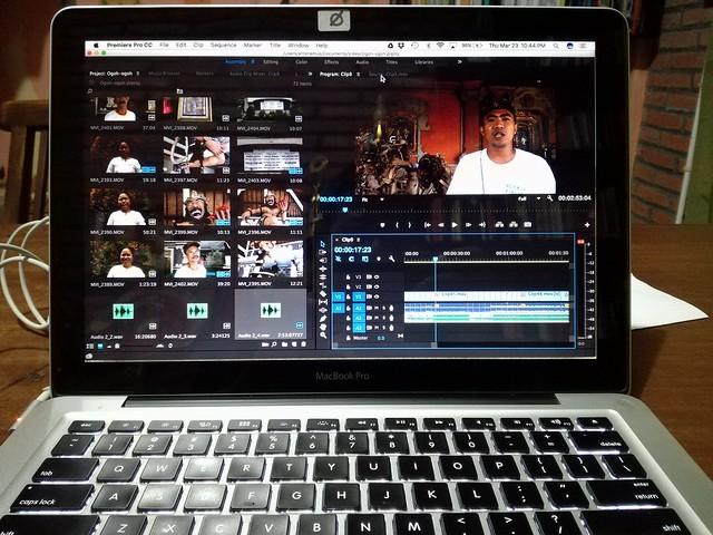 Edit video.