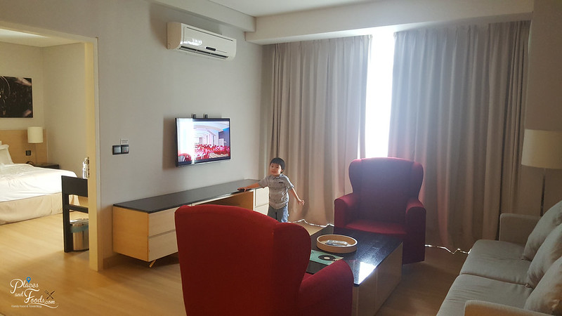 The Straits Hotel And Suites Melaka junior suite