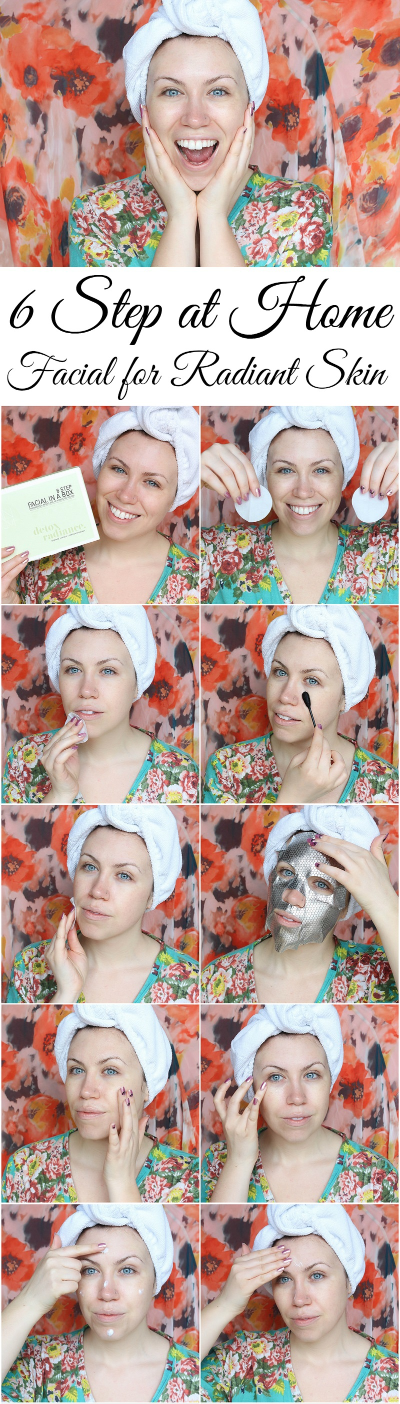 6 Step At Home Facial for Radiant Skin SkinForum Jackie Giardina Beauty Blogger Living After Midnite Skincare