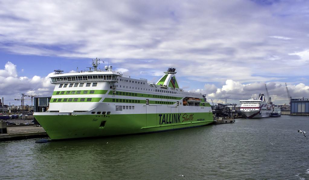 Helsinki ferry port   Tallink Star, MS Star is a fast Ro-Pax…   Flickr