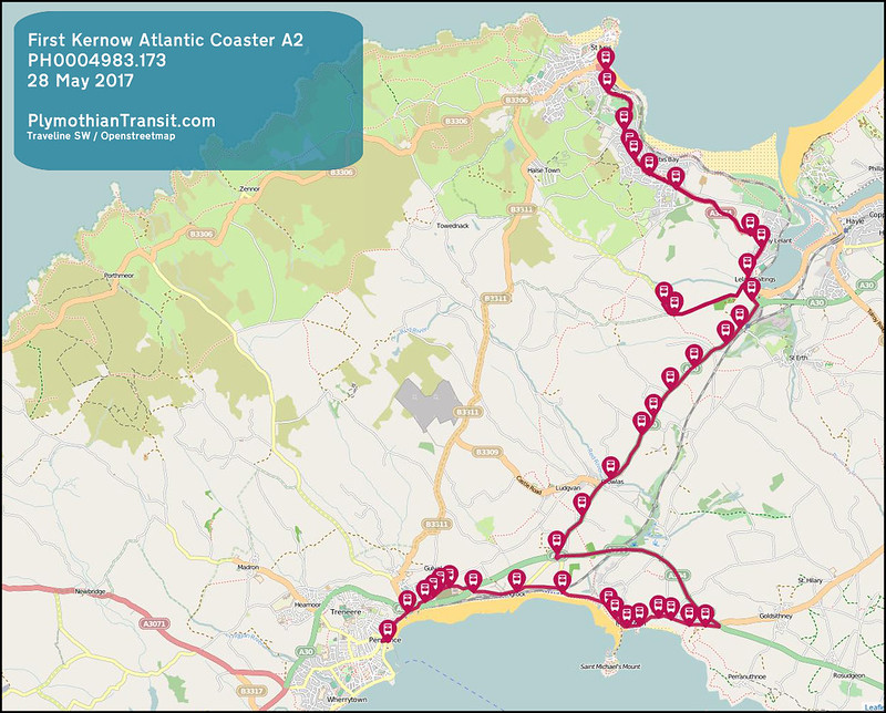 2017 05 28 FIRST SOUTH WEST LTD ROUTE-A002 MAP