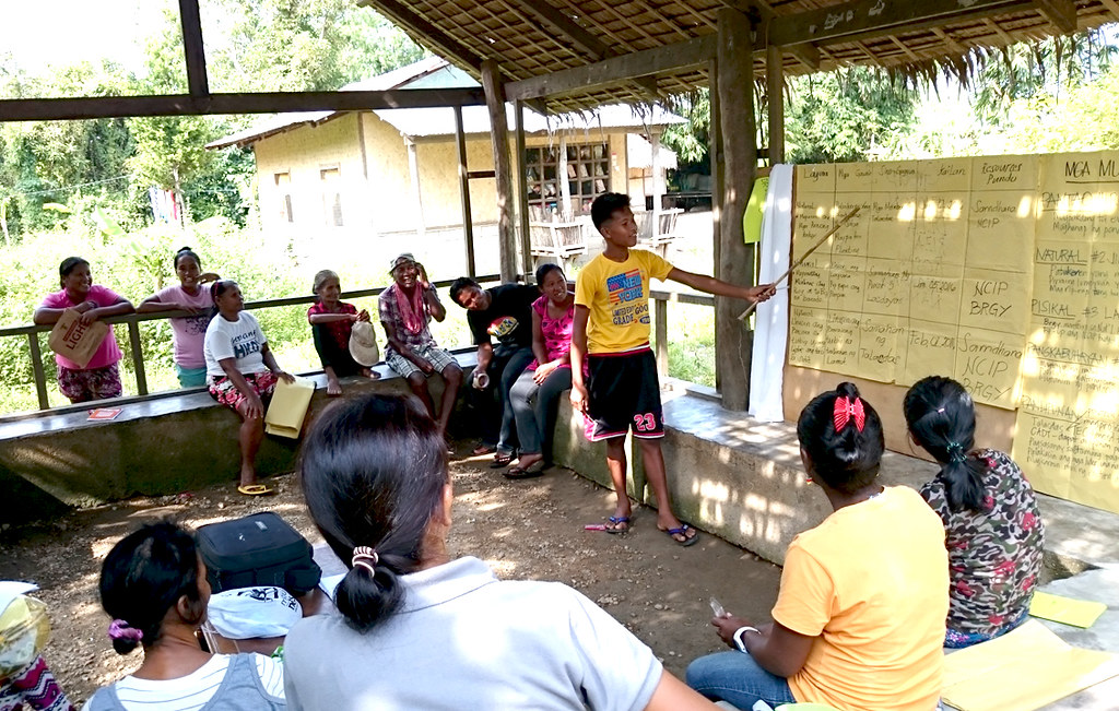 Tagbanwa youth participate in assessment and planning activities