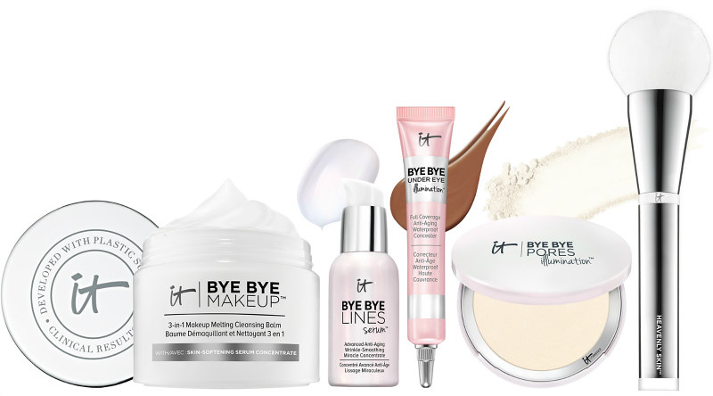 IT Cosmetics Your Bye Bye Breakthroughs 5 piece Collection QVC Todays Special Value TSV