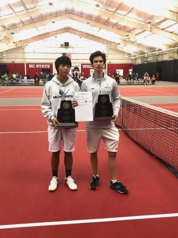 2017-05-13 NCHSAA Boys Tennis 1A Doubles