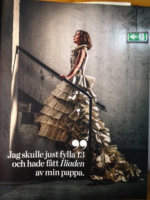 Sara Danius in Vi Magazine