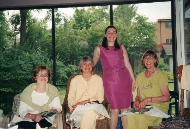 2001 Bridal Shower at Lucy's