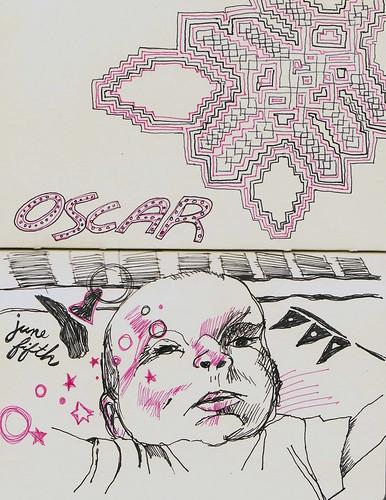oscar sketch 3