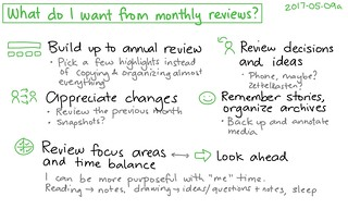 2017-05-09a What do I want from monthly reviews #journaling | by sachac