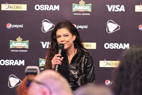 Ruslana Press Conference in Kyiv