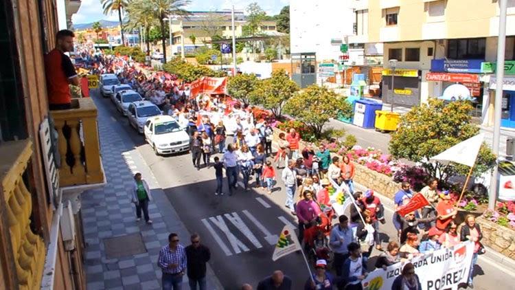 manifestacion 1 mayo2