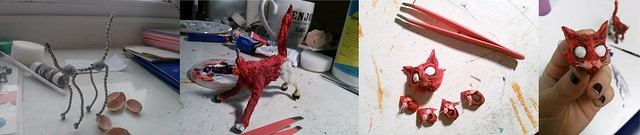 Puppet Making - Red Cat
