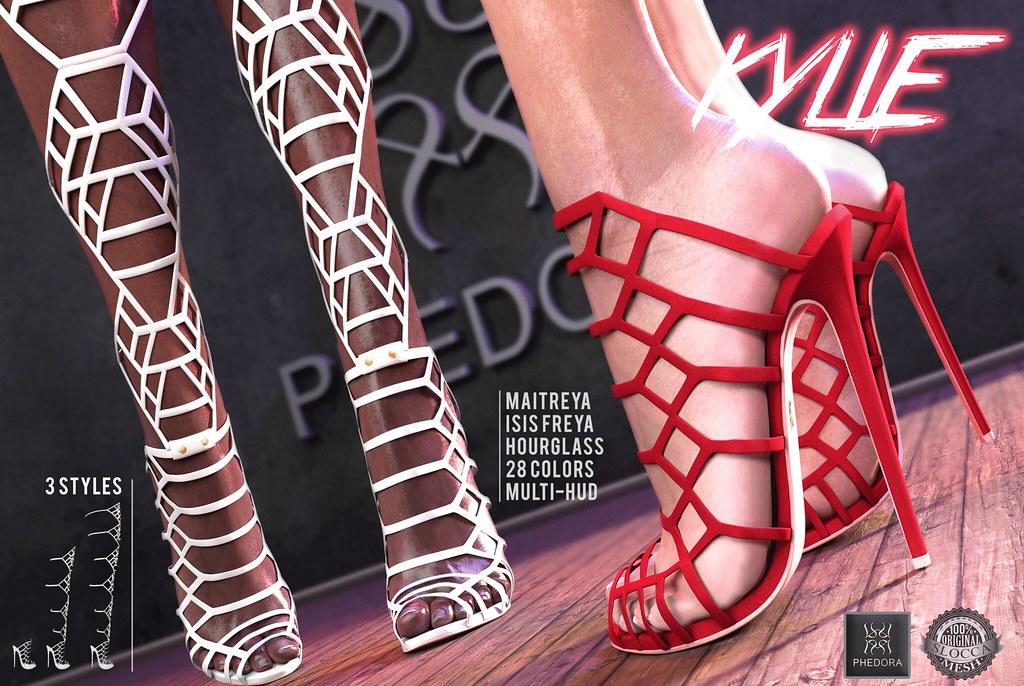 "Phedora. for ROMP- ""Kylie"" multi-style heels! ♥"