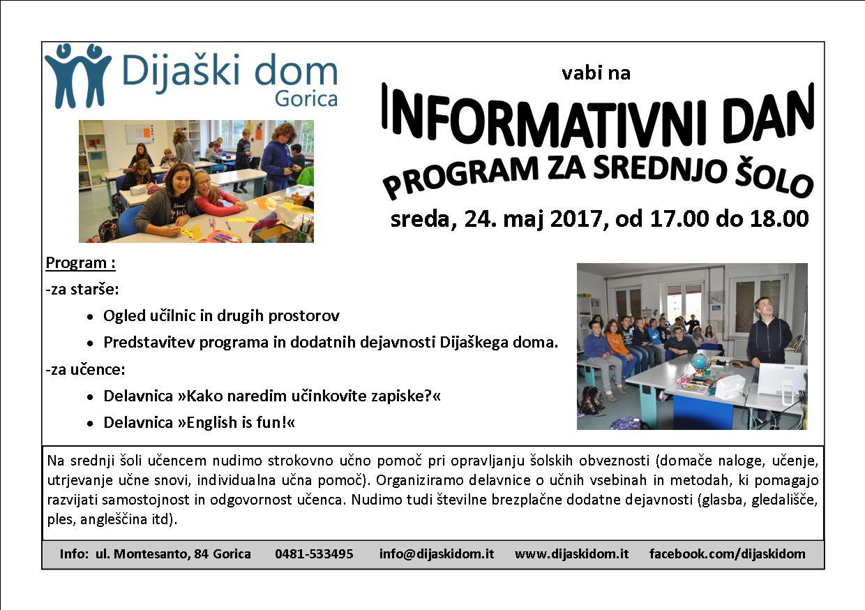 info dan srednja 2017