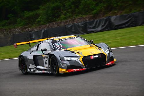 Stuart Leonard - Robin Frijns, Audi R8 LMS, Blancpain GT Series Sprint Cup, Brands Hatch 2017