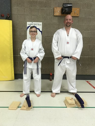 Perfect test for this dynamic duo! Mr. Logan Van Guilder and Mr. Paul Trusten performed exceptionally well on their purple trim test this evening. It was a fun test to watch. Great Job Mr. Logan and Mr. Paul! We are proud of you.